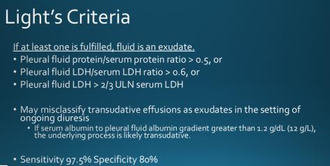 Light's criteria